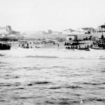 Landung mit Booten, 1905