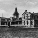Staatsbahnhof während der Kolonialzeit